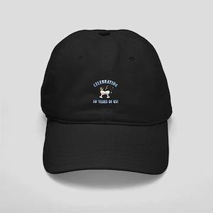 50th Anniversary Party Black Cap