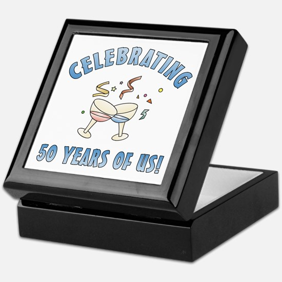 50th Anniversary Party Keepsake Box