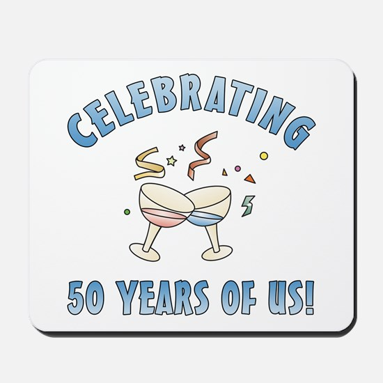 50th Anniversary Party Mousepad