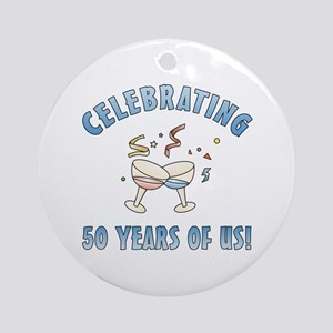 50th Anniversary Party Ornament (Round)