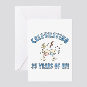 35th Anniversary Party Greeting Card