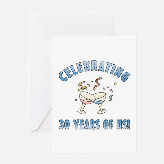 30th Anniversary Party Greeting Card