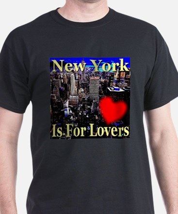 New York Is For Lovers T-Shirt