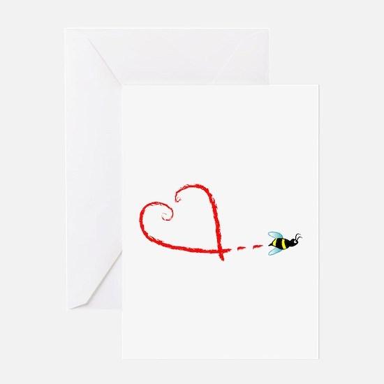 Love Bee Greeting Card