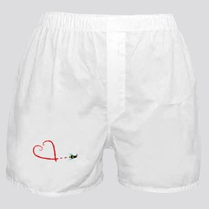 Love Bee Boxer Shorts