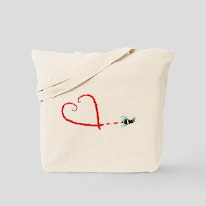 Love Bee Tote Bag