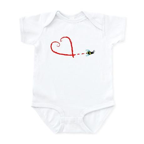 Love Bee Infant Bodysuit