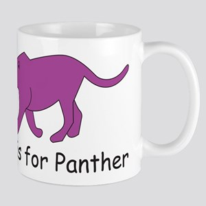 P is for Panther Mug