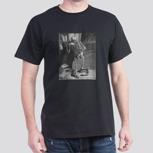 Too Much Homework Black T-Shirt