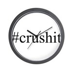 #crushit Wall Clock