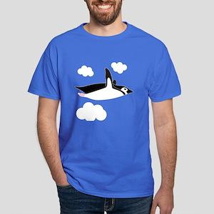 Free Flying Penguin Dark T-Shirt
