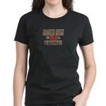 Brown Skin Is Not A Crime! Women's Dark T-Shirt