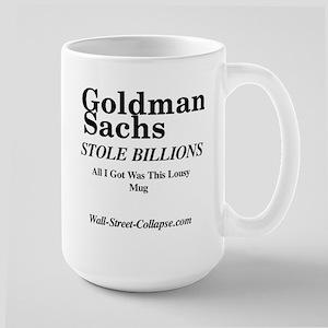 Wall-Street-Collapse.com Large Mug