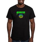 Bad Mojo Obama Logo Fitted T-Shirt (dark)