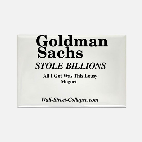 Wall-Street-Collapse.com Rectangle Magnet