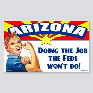 Job Feds Won't Do Sticker (Rectangle)