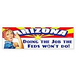 Job Feds Won't Do Sticker (Bumper 10 pk)