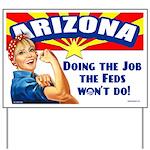 Job Feds Won't Do Yard Sign