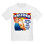 Job Feds Won't Do Kids Light T-Shirt