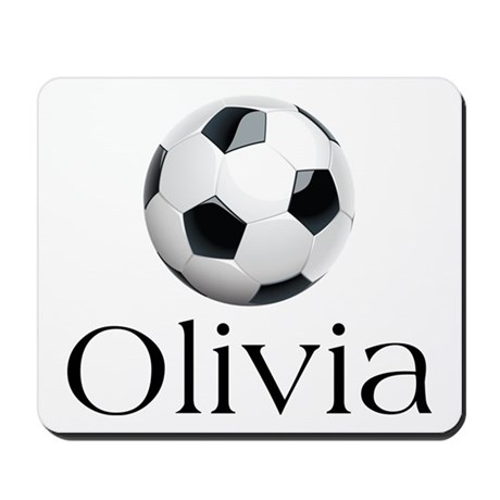 Olivia Soccer Mousepad