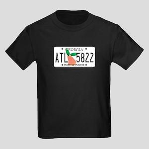 GA Peaches Kids Dark T-Shirt
