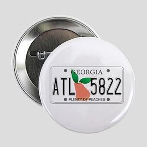 "GA Peaches 2.25"" Button"