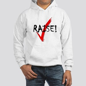 Check Raise! Hooded Sweatshirt