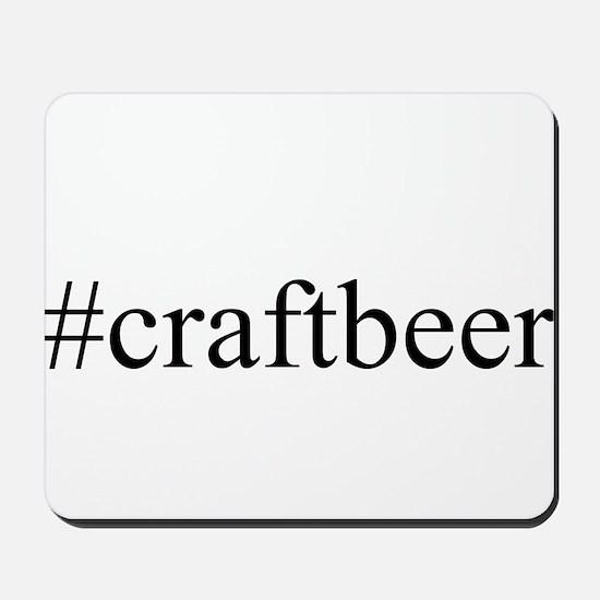 #craftbeer Mousepad