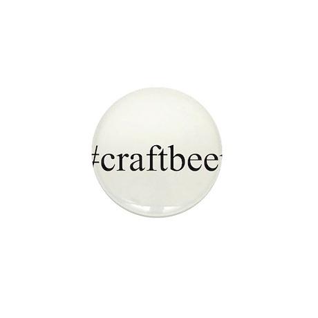 #craftbeer Mini Button