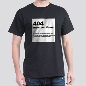 404 - not found Black T-Shirt