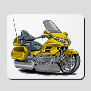 Goldwing Yellow Bike Mousepad