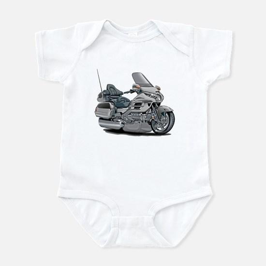 Goldwing Silver Bike Infant Bodysuit