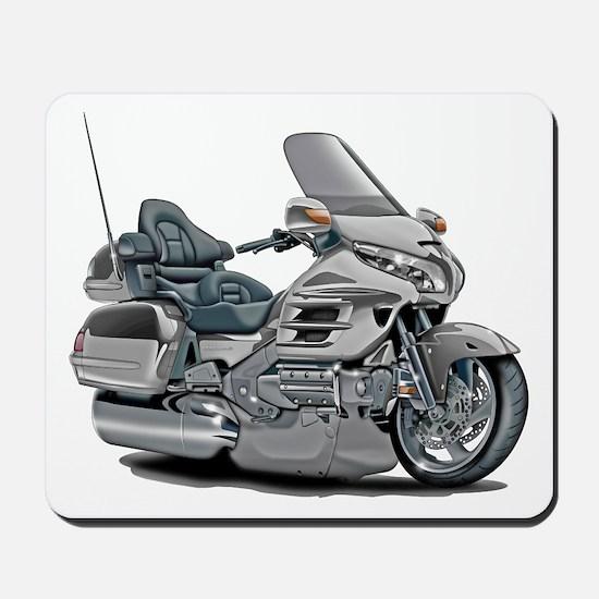 Goldwing Silver Bike Mousepad