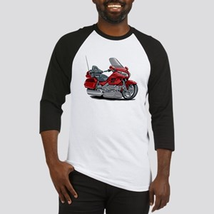 Goldwing Red Bike Baseball Jersey