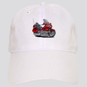 Goldwing Red Bike Cap