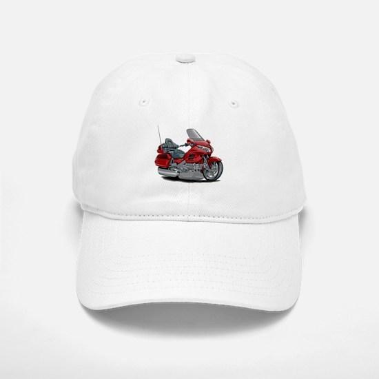 Goldwing Red Bike Baseball Baseball Cap