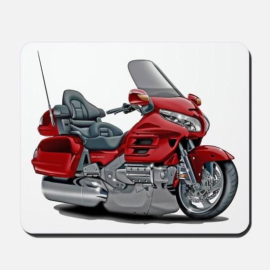 Goldwing Red Bike Mousepad