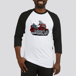 Goldwing Maroon Bike Baseball Jersey