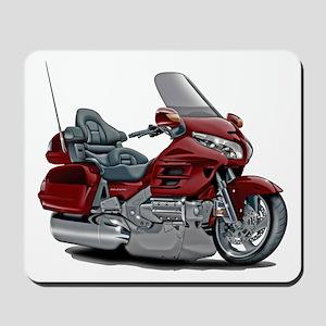 Goldwing Maroon Bike Mousepad