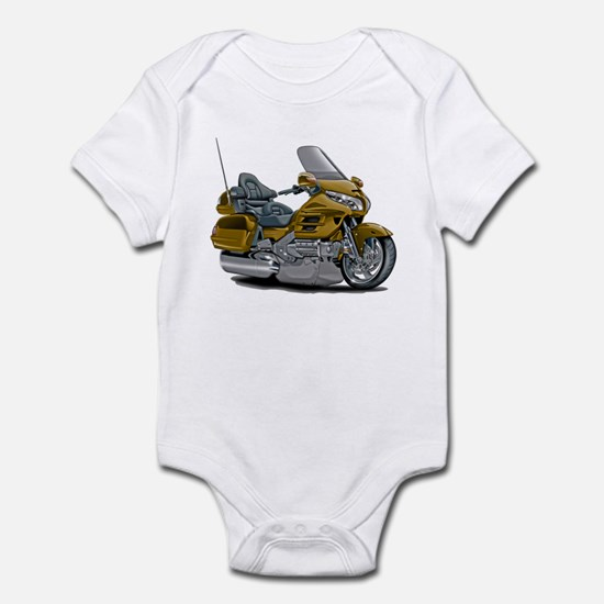 Goldwing Gold Bike Infant Bodysuit