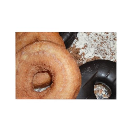 Donuts Rectangle Magnet (100 pack)