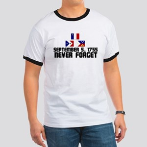 Never Forget w/ Flags Ringer T