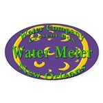 NOLA Water Meter Oval Sticker