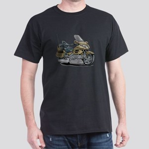 Goldwing Champagne Bike Dark T-Shirt