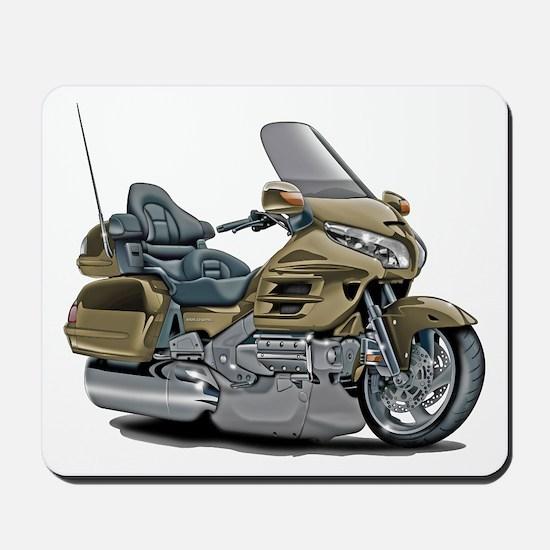 Goldwing Champagne Bike Mousepad