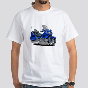 Goldwing Blue Bike White T-Shirt