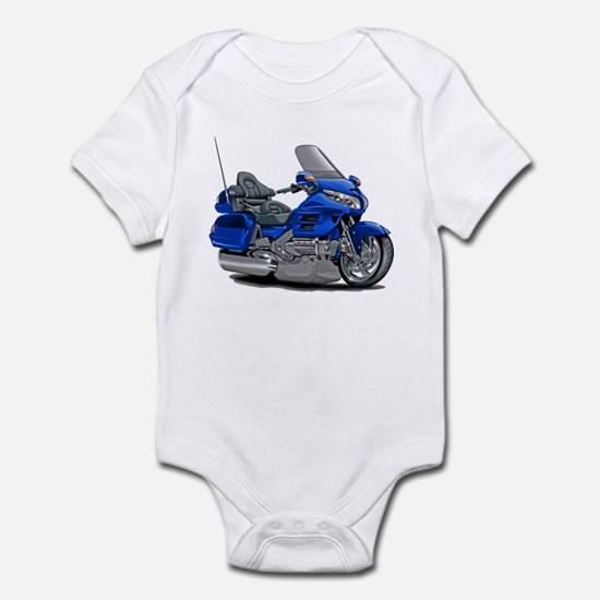 Goldwing Blue Bike Infant Bodysuit