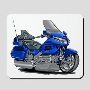 Goldwing Blue Bike Mousepad