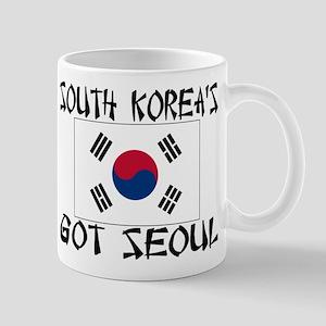 South Korea's Got Seoul! Mug