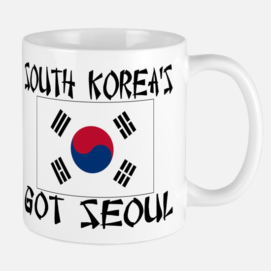 South Korea's Got Seoul! Mug